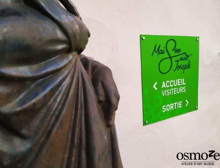 Plaque extérieure > Maison Saint-Joseph