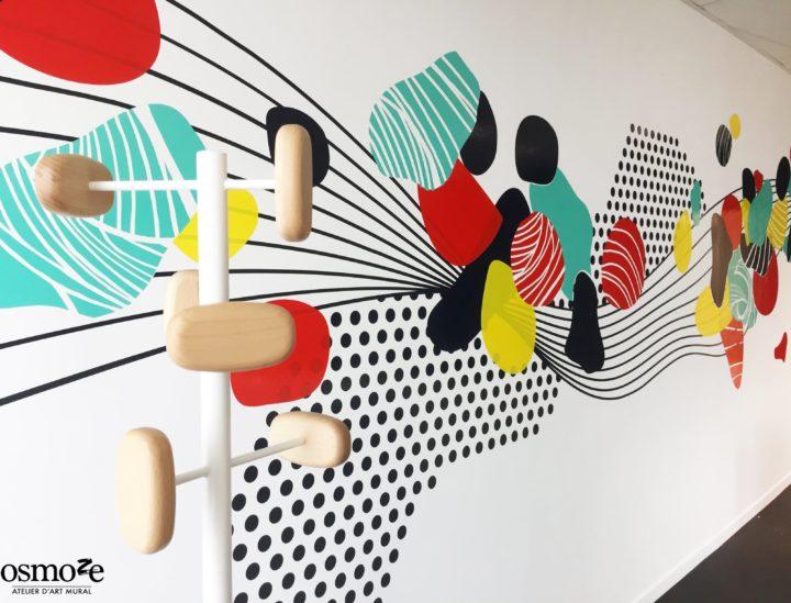 Décoration murale > Crédit mutuel Lille