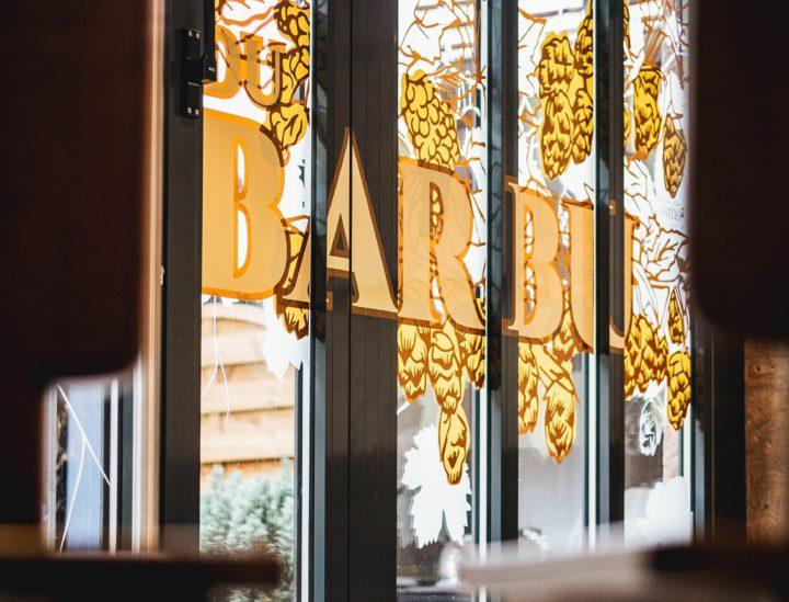 Vitrophanie bistrot > Le Bistrot du Barbu