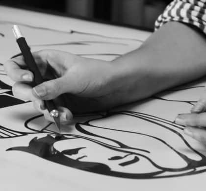 PHASE 3 : En atelier, du dessin à la fresque murale