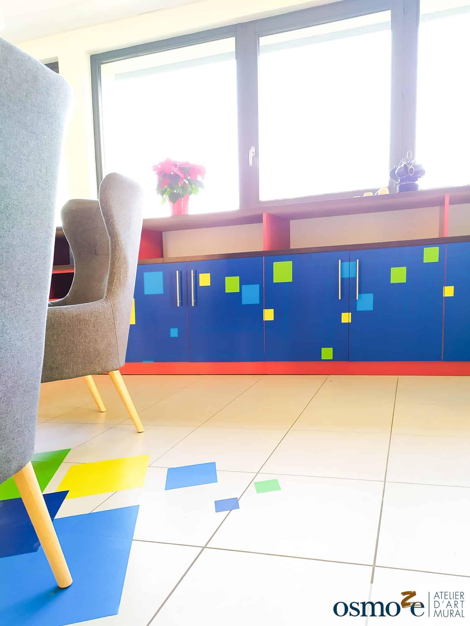 Décoration mobilier > espace de coworking