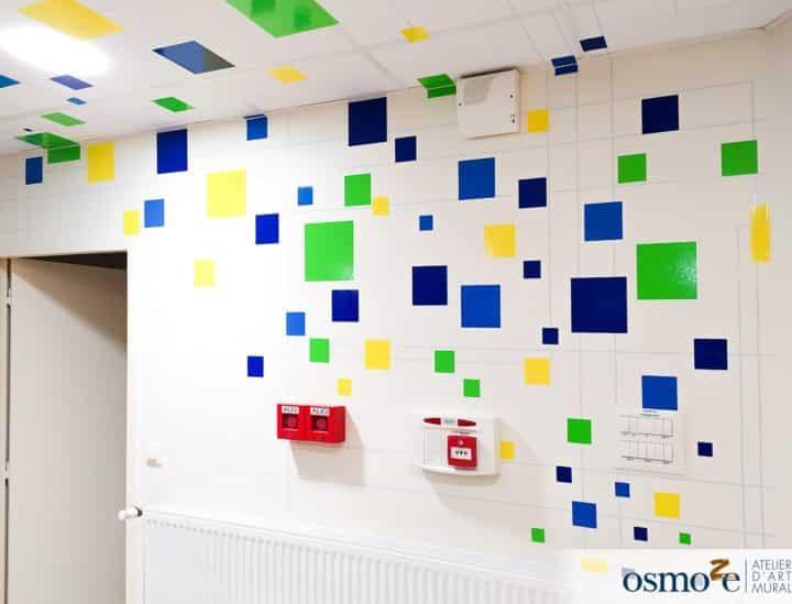 Décoration mur et plafond > espace de coworking