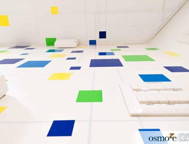 Décoration murale immersive > espace de coworking