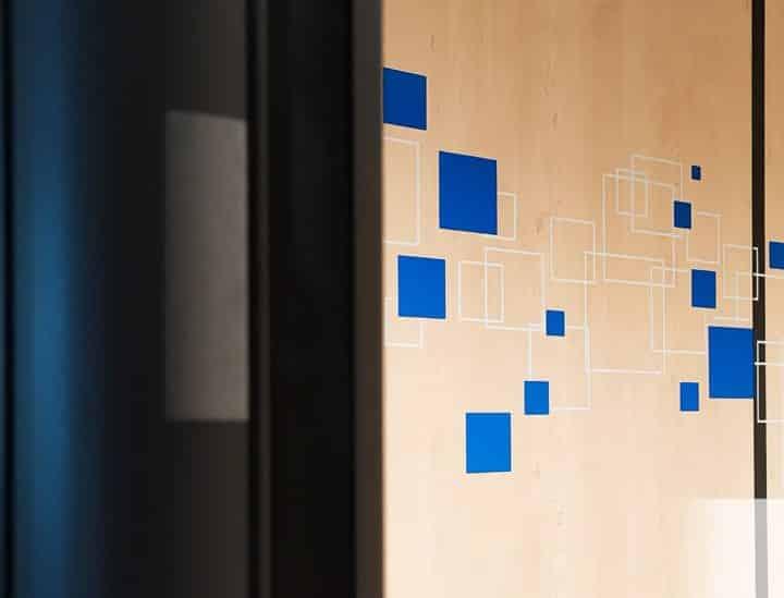 Identité murale > espace de coworking