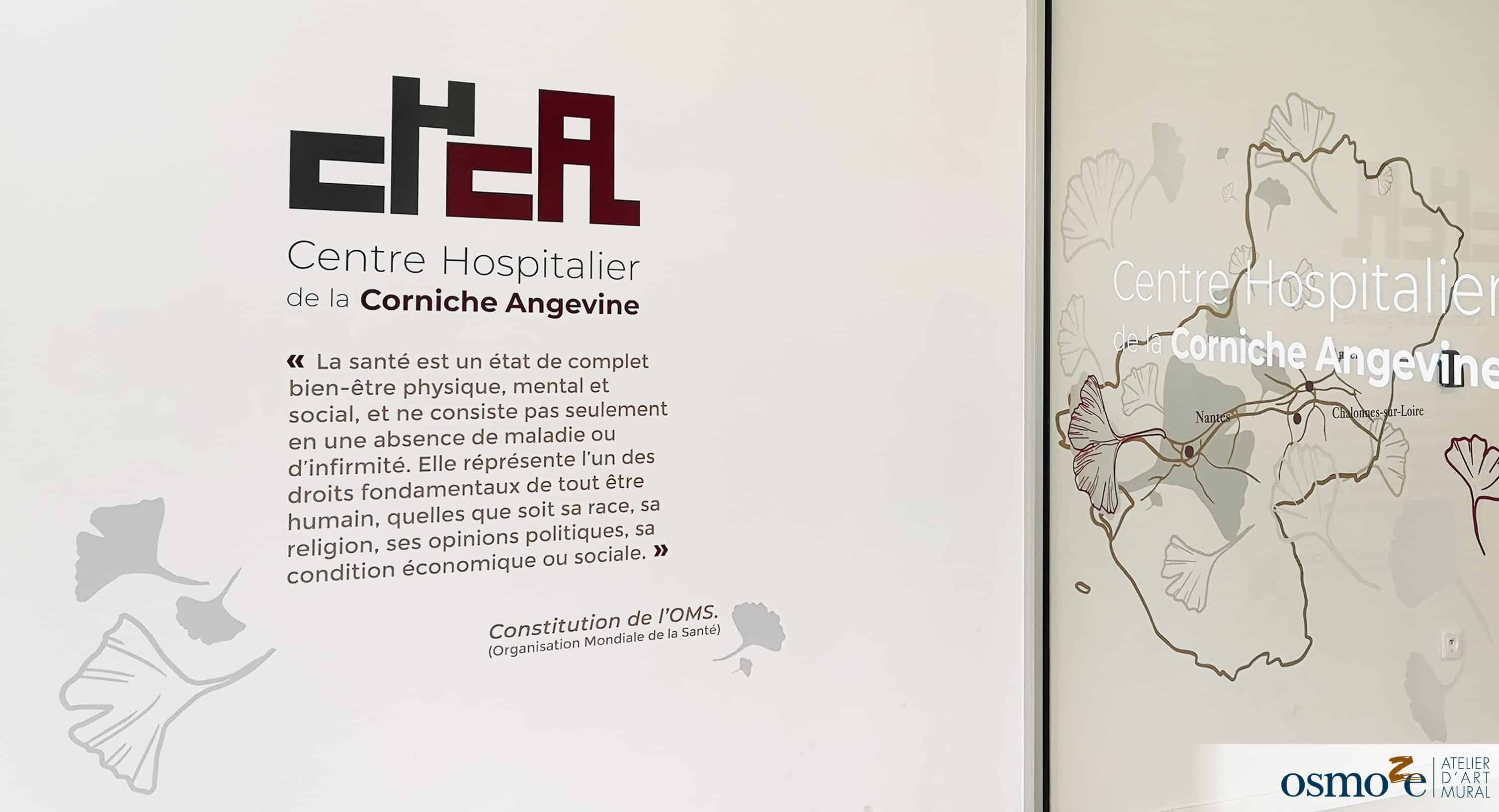 vitrophanie et décoration murale > CHCA