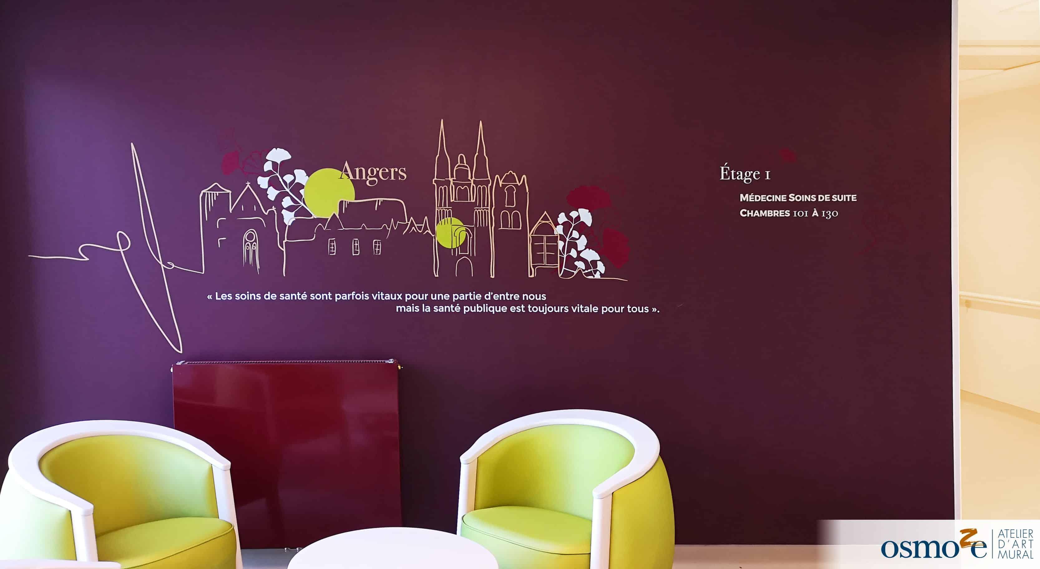 signalétique et décoration murale >CHCA