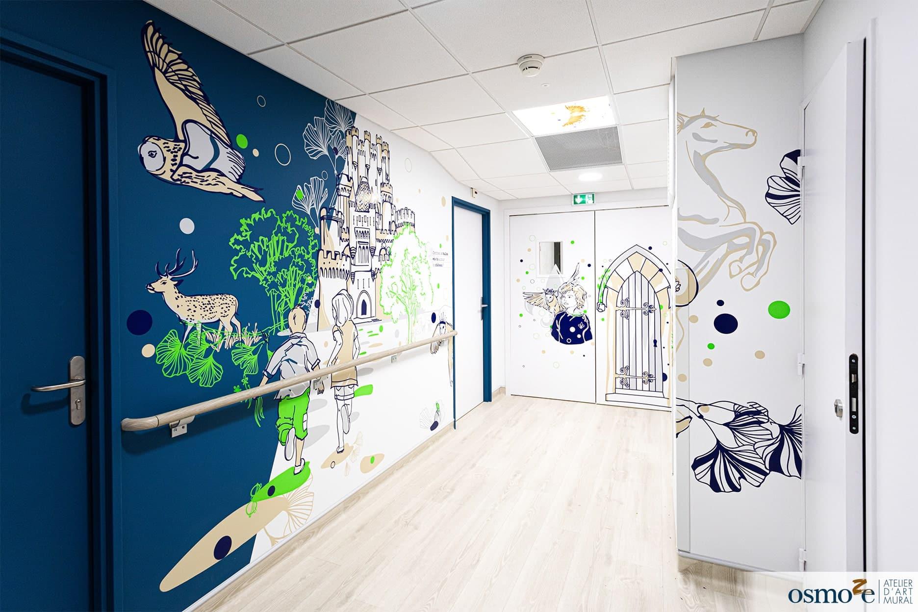 Décoration hôpital enfants > CHU DIJON