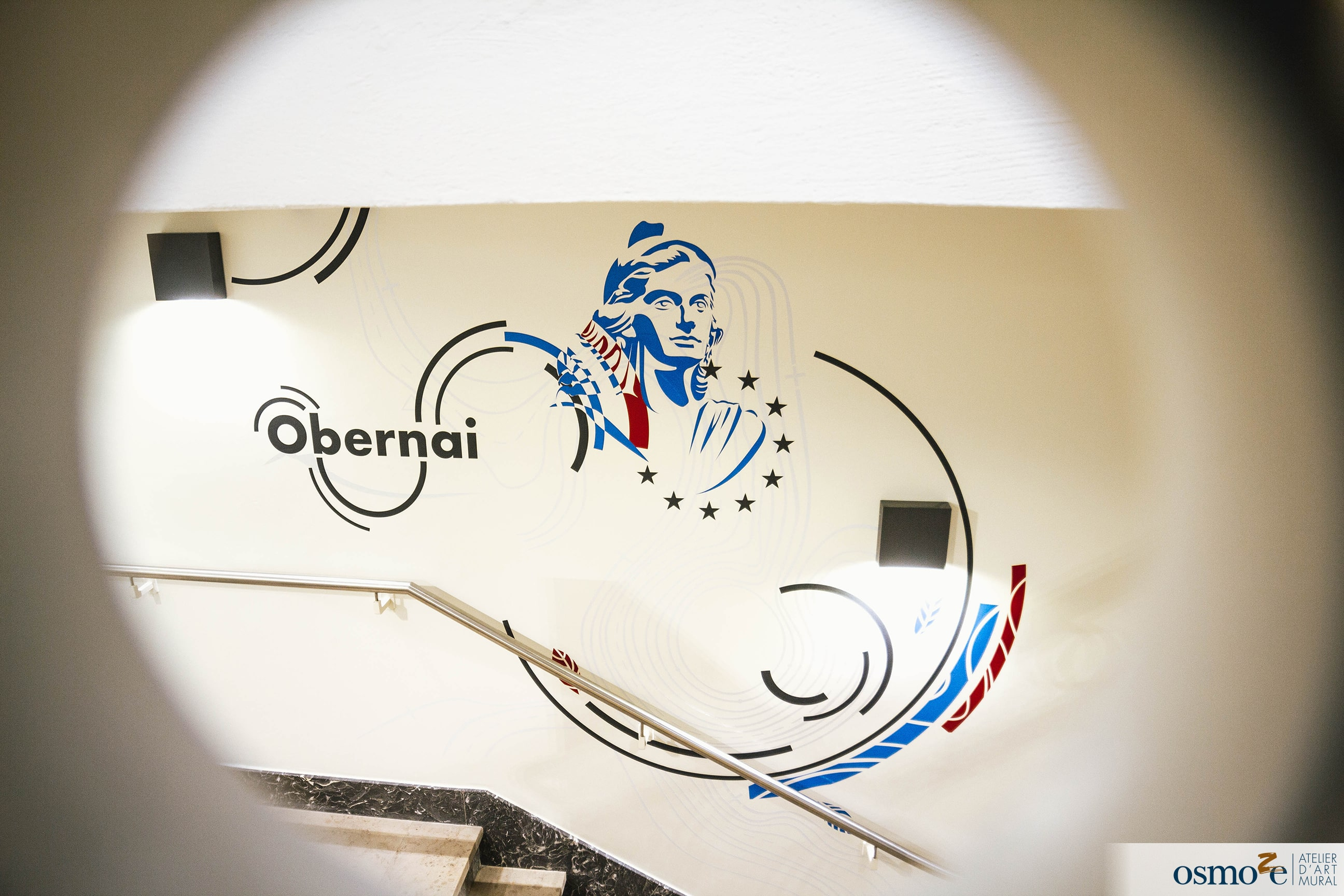 Décoration murale mairie > Obernai