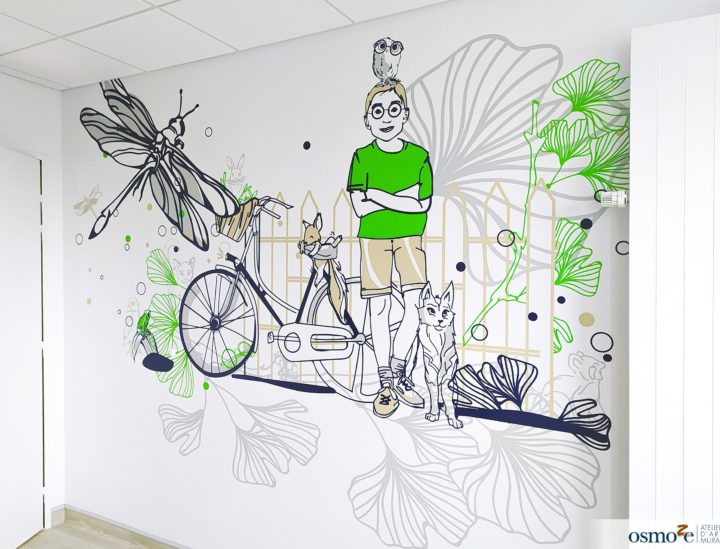 Décorations murs hôpital enfants > CHU Dijon