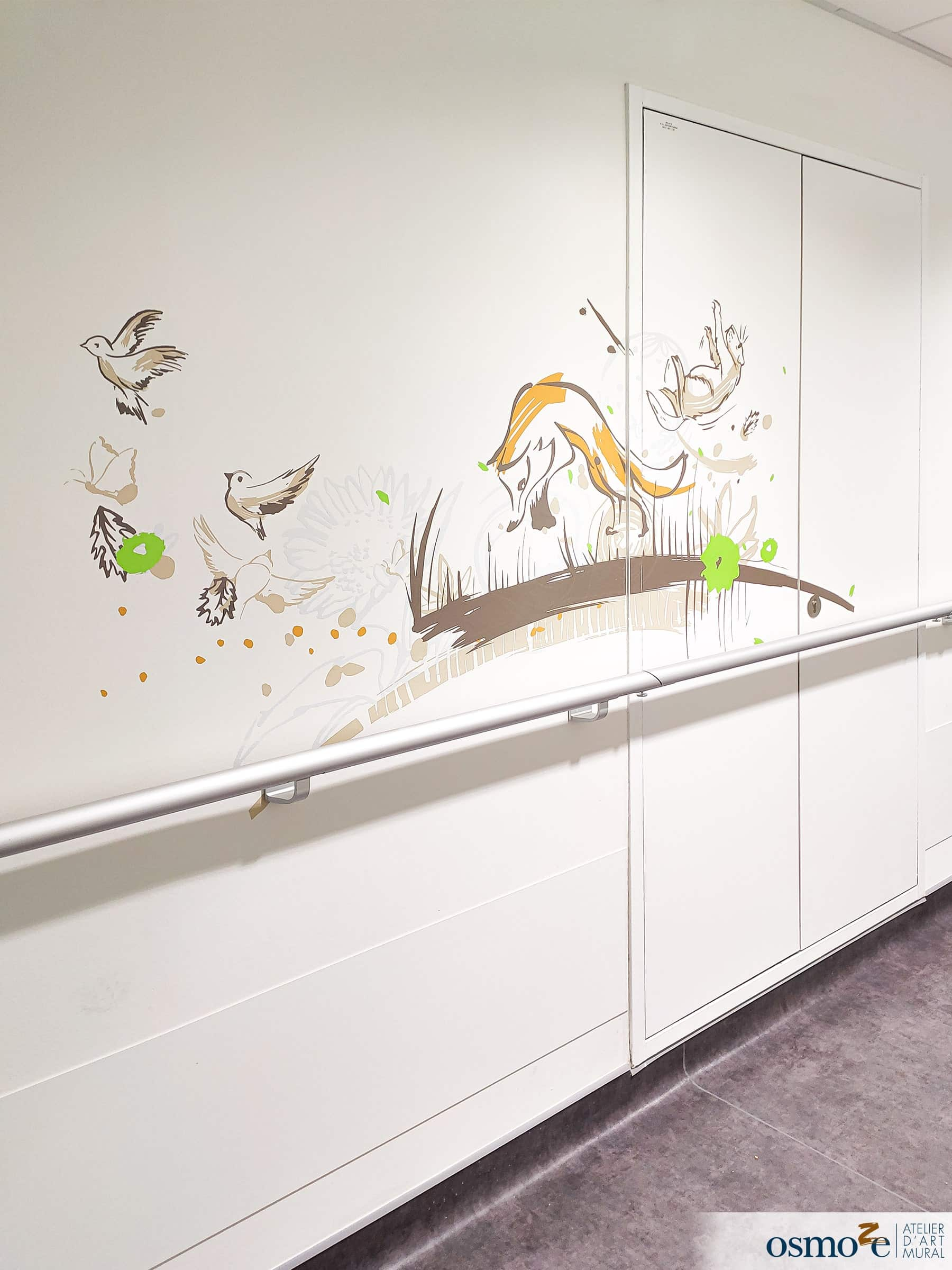 Décoration murale hôpital enfants > MGEN