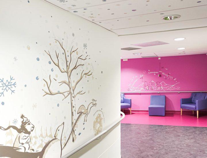 Décoration murs et plafonds clinique > MGEN