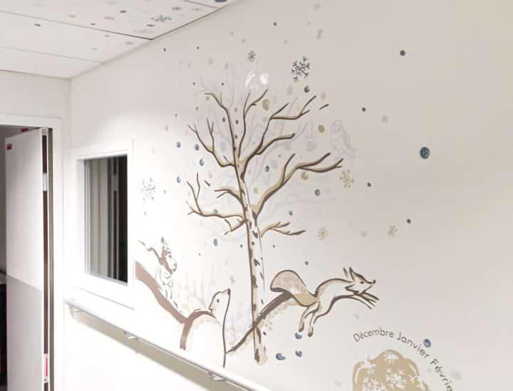 Décoration murs et plafonds hôpital > MGEN