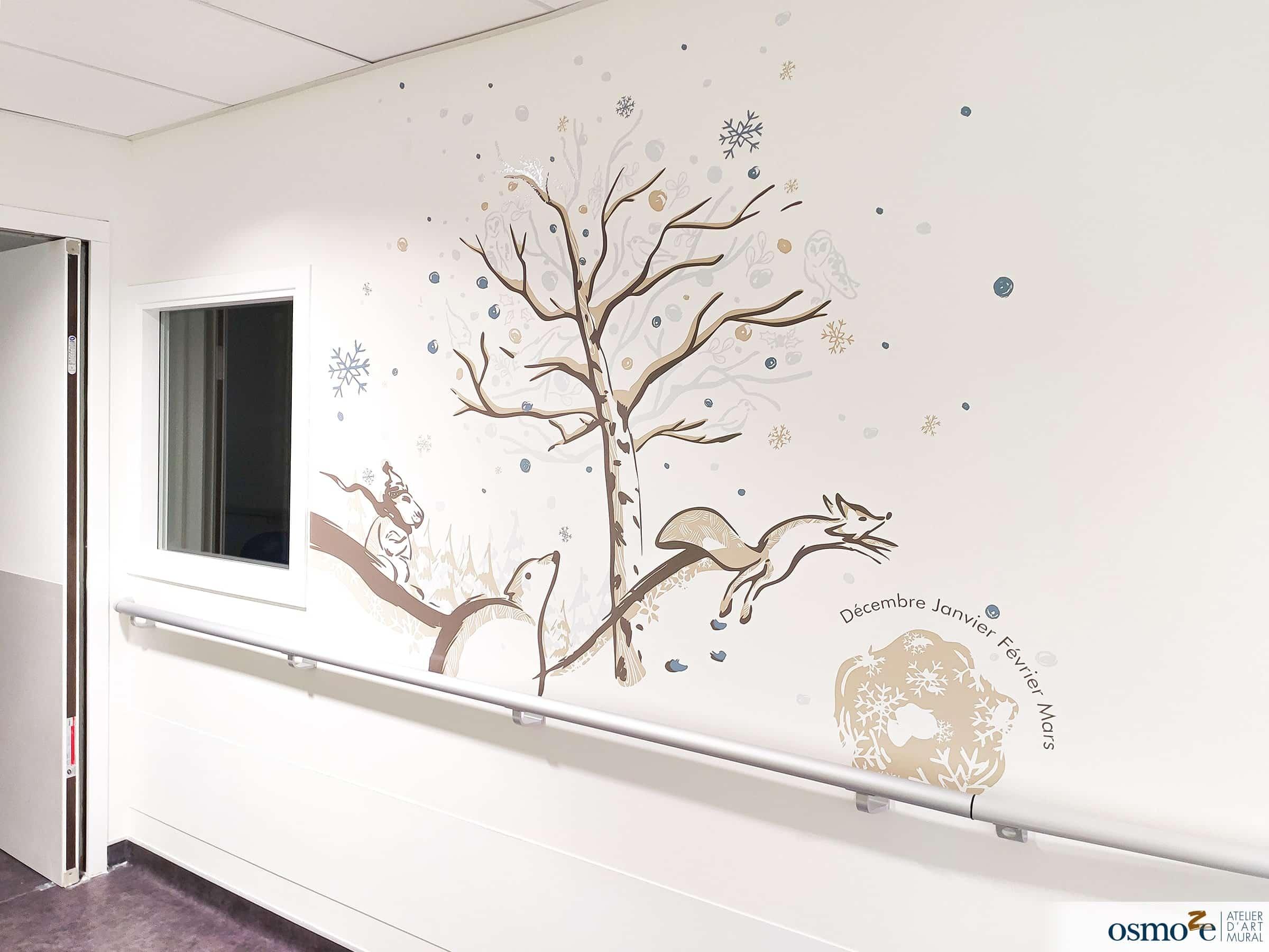 Fresques murales hôpital enfants > MGEN