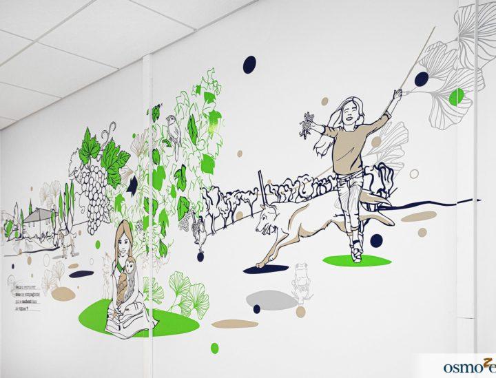 Fresques murales hôpital enfants > CHU Dijon