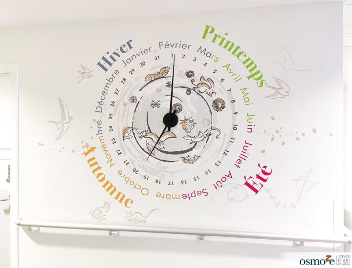 Horloge design clinique enfants > MGEN