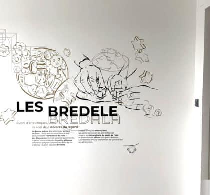 Décoration murale et signalétique artistique > Décoration murale design  > CROUS > PAUL APPELL > OSMOZE