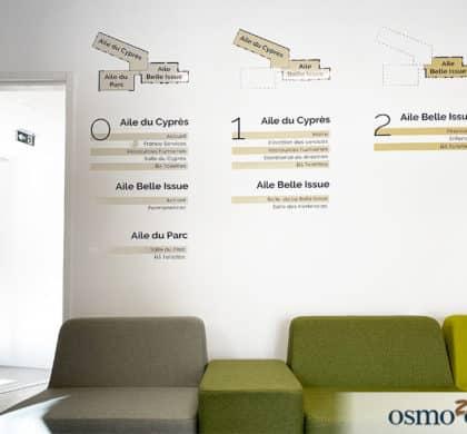 L'Ode à la ligne, une signalétique institutionnelle stylisée – Mairie de Binic-Étables sur mer (22)