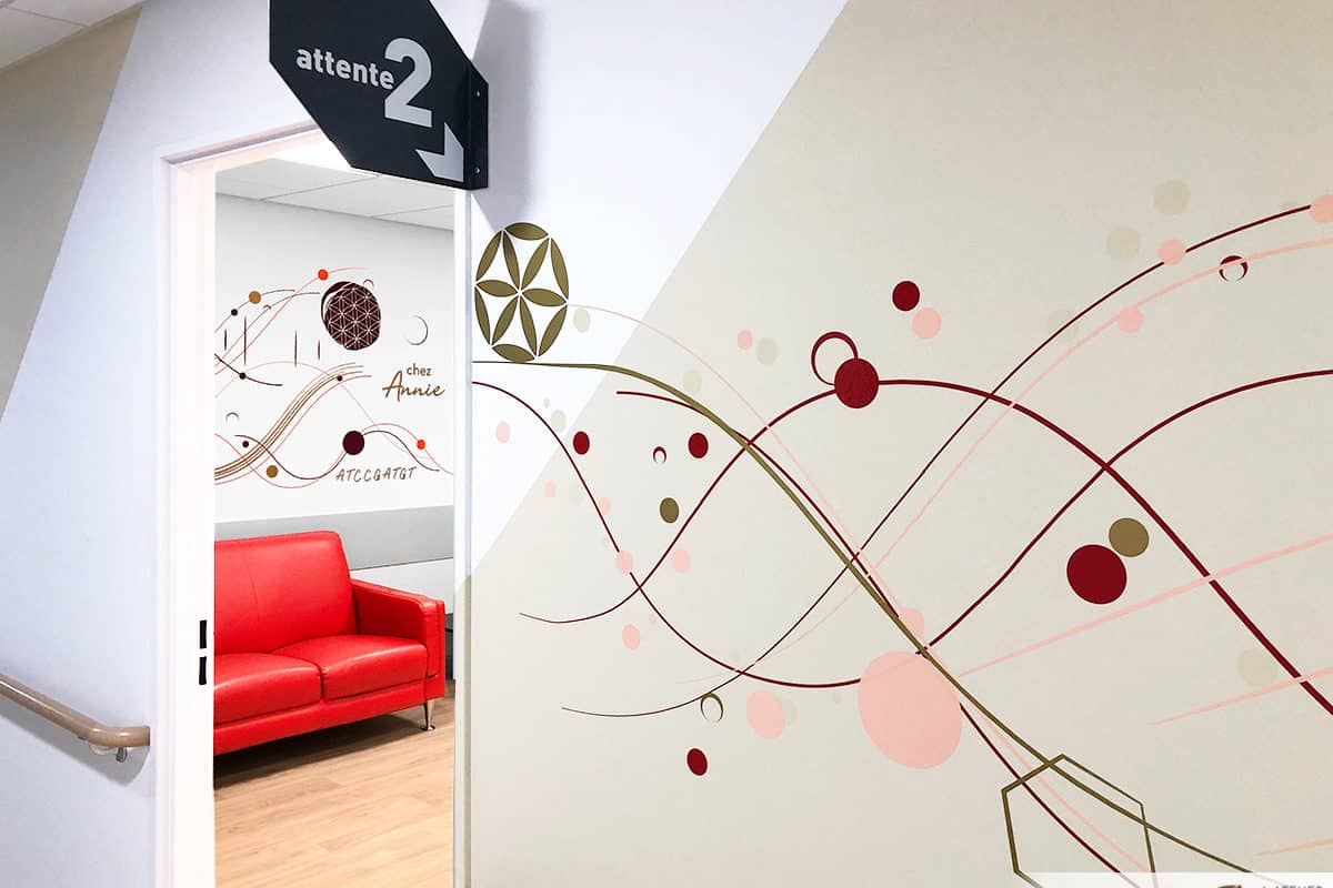 Fresques murales médicales au CHU de DIJON (21)