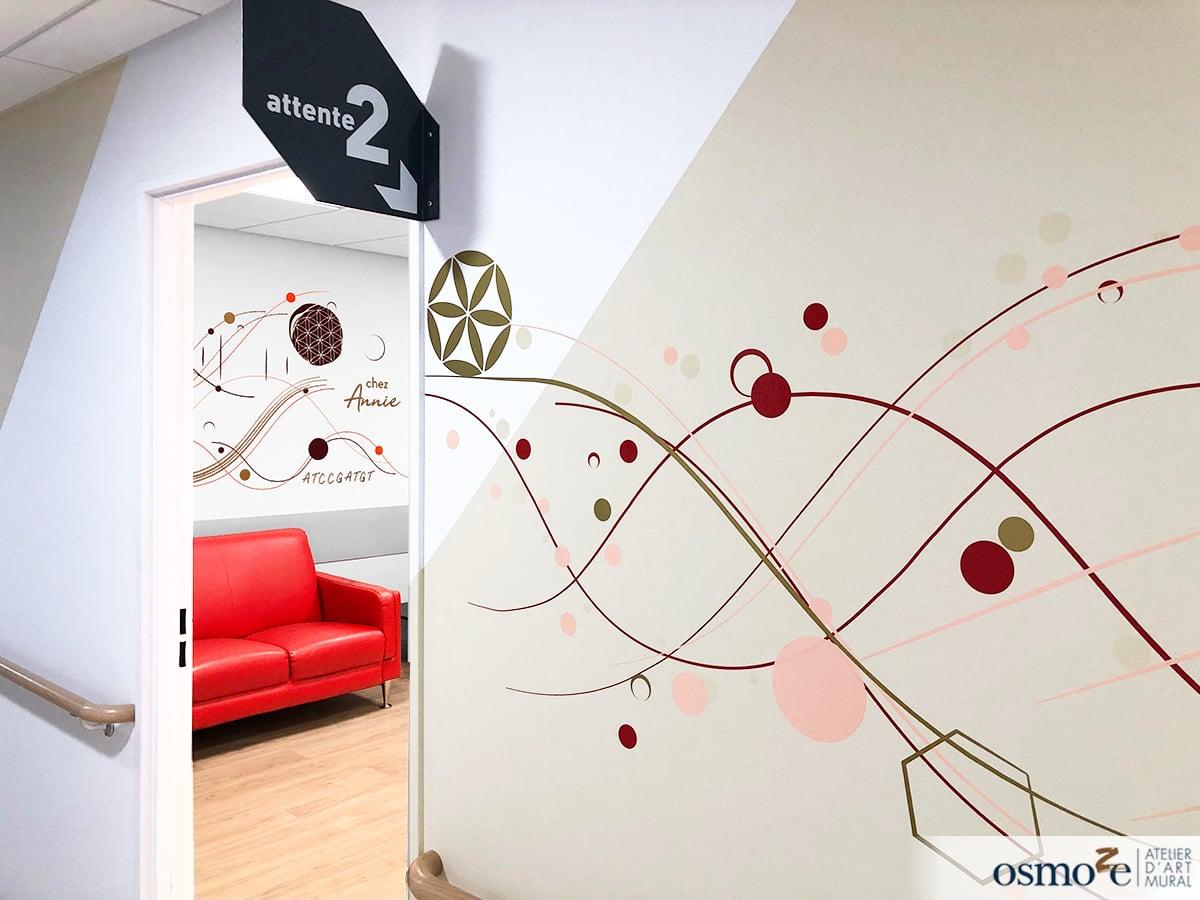 Fresques murales Hôpital de l'enfance CHU de DIJON (21)
