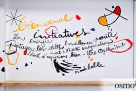 L'univers abstrait et coloré de la creativity room de Pôle Emploi de DIJON (21)