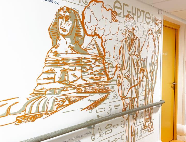 Décoration murale et signalétique artistique