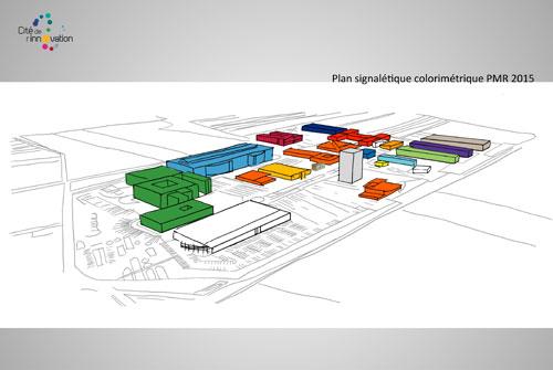 20 b timents une cit de l 39 innovation et le plus grand centre r d d 39 europe confi s l 39 atelier. Black Bedroom Furniture Sets. Home Design Ideas