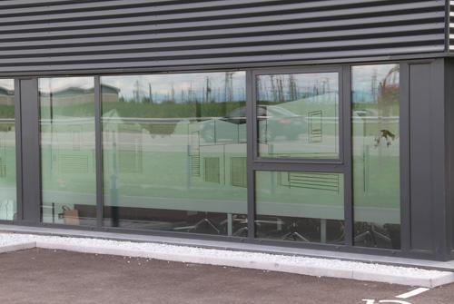 Film depoli vitre le meilleur de la maison design et - Film occultant vitre ...