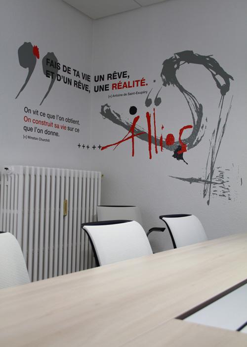 Un cabinet comptable transform en v ritable oeuvre - Decoration bureau entreprise ...