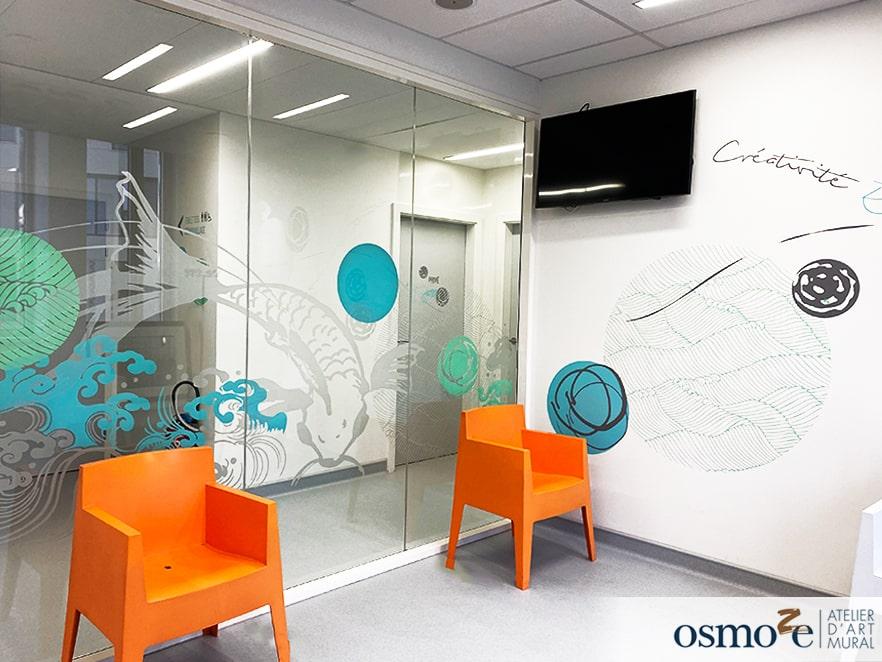 Des espaces japonisants et anti-stress pour le centre laser dermatologique Rhena