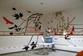 Art Mural > Décoration géante > Couloir > Entreprise