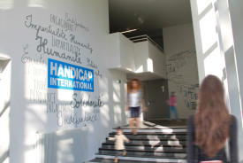 Osmoze - Atelier d'Art Mural > Handicap International Lyon