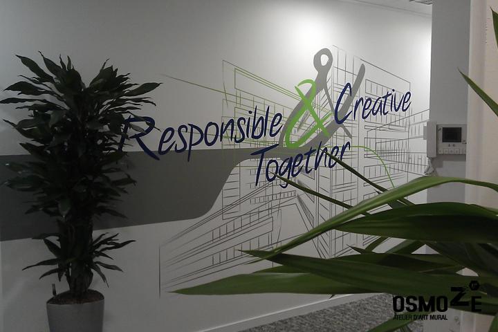 Décoration Murale > Design Mural > Siège Social Entreprise
