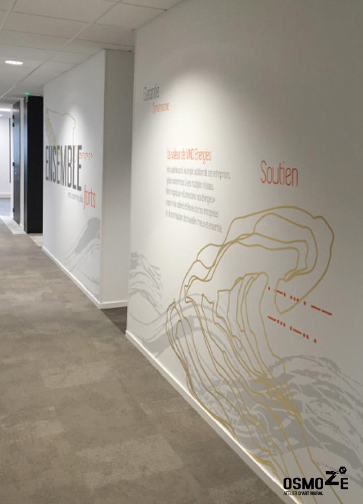 Décoration > Fresque et oeuvre murale > Stickers > Couloir