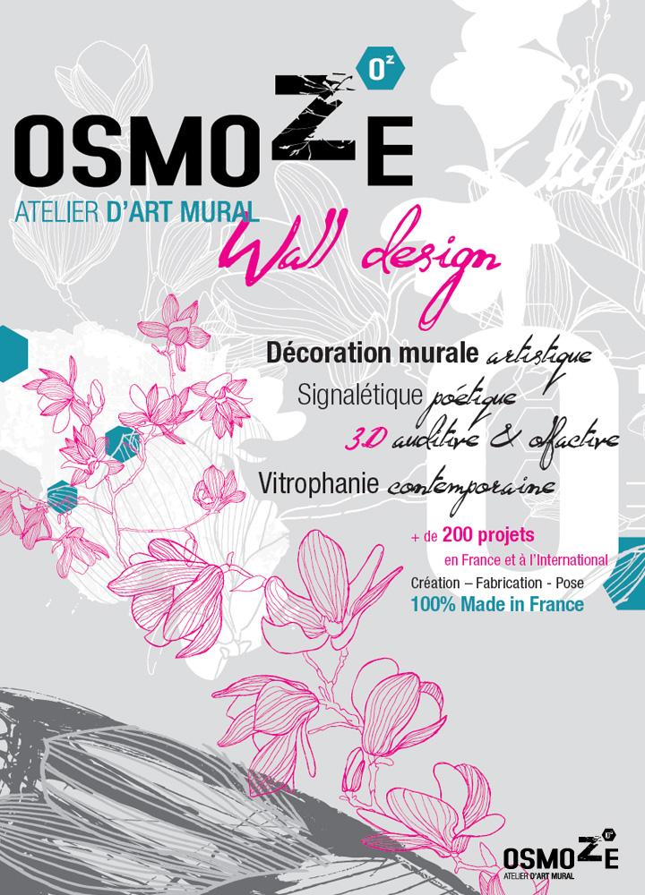 Décoration > Stand > Paris Healthcare Week > Signalétique murale 3D et Olfactive