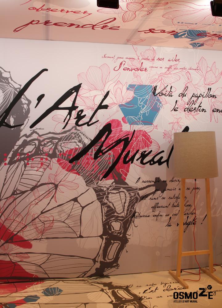 Décoration Art Mural > Stand Salon Paris 2016 > Ehpad Hopital Fem Mas Fas > Porte de Versaille