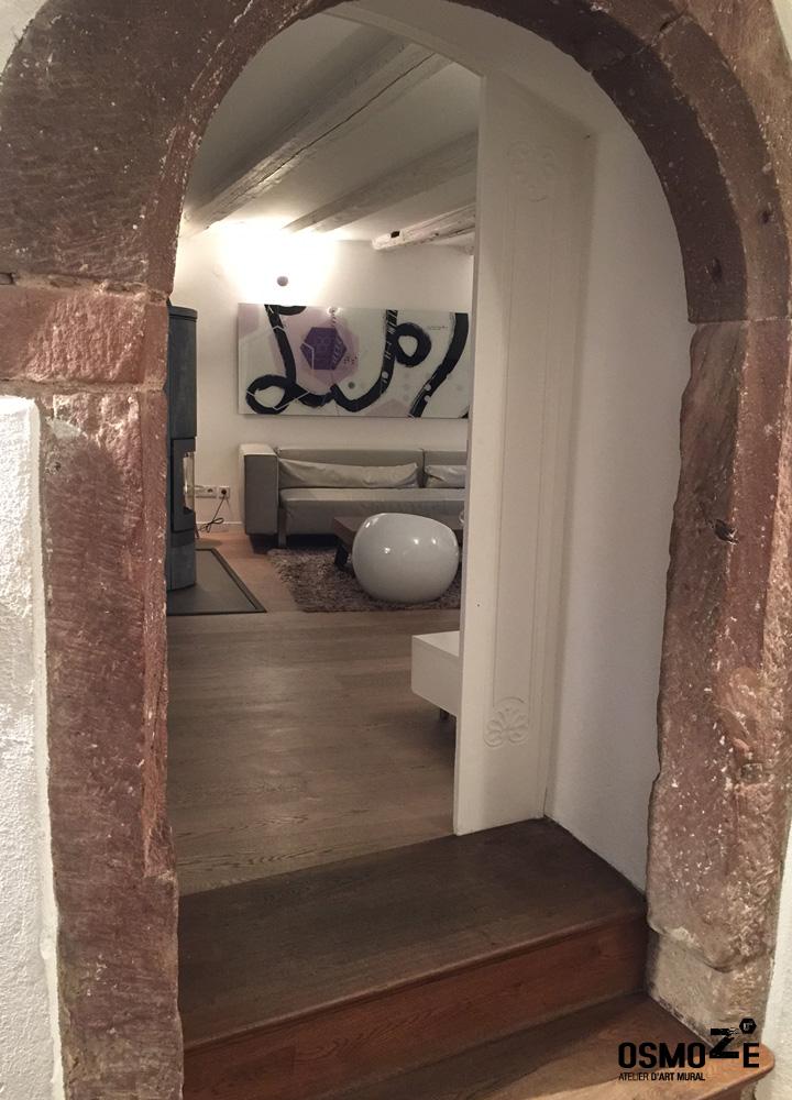 Décoration Murale Plexi > Exposition intérieure Osmoze