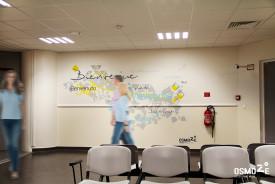Décoration Murale Graphique : Chu hôpital KREMLIN BICETRE