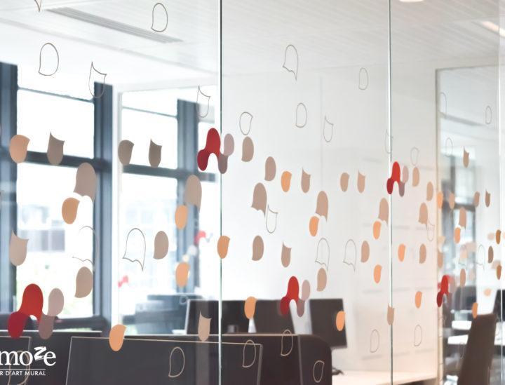Chronopost > Paris > Vitrophanie > Signalétique décorative > Signalétique de bureaux > Bureaux