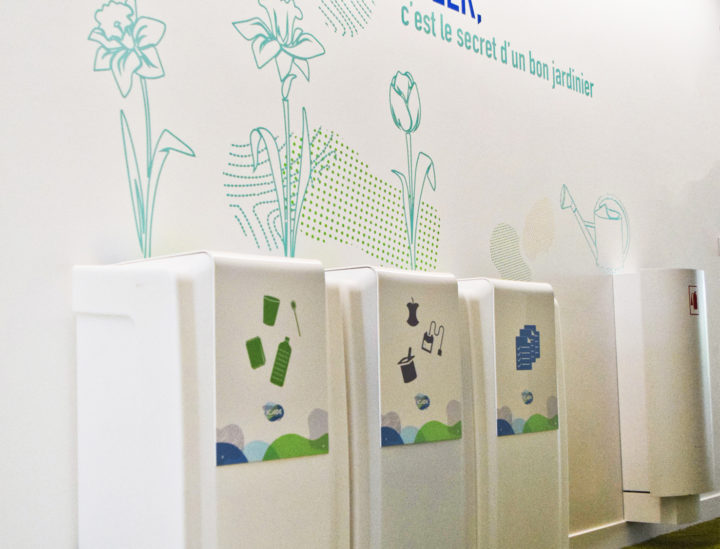 Osmoze > Décoration murale > ICADE > Recycler