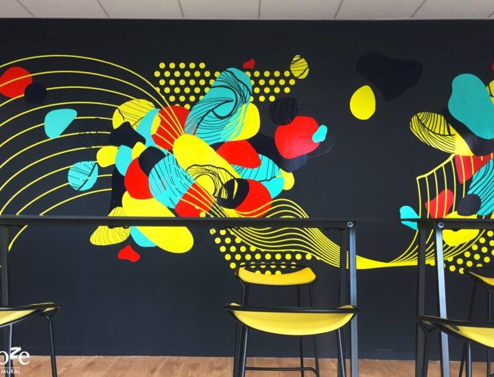 Décoration murale Pop > Crédit mutuel Lille