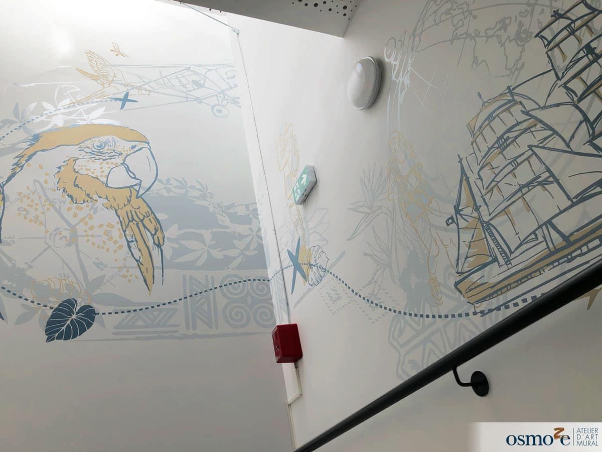Voyage autour des fresques pour l'IME Cottolengo d'EPFIG