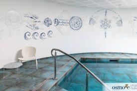 Fresques panoramique pour le Centre de thérapie Atlantis – LA BAULE (44)