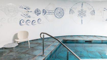 Fresque panoramique pour le Centre de thérapie Atlantis – LA BAULE (44)