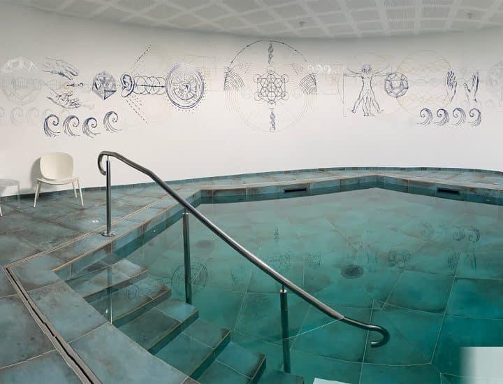 Décoration murale - Centre de thérapie Atlantis - by Osmoze