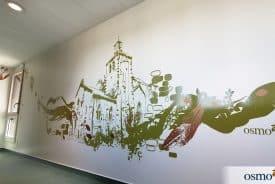 La décoration murale, une fenêtre ouverte sur le patrimoine local – Maison d'accueil – LA SÉGUINIÈRE (49)